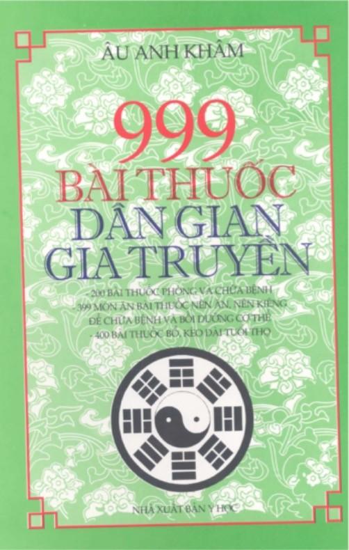 999 Bài Thuốc Dân Gian Gia Truyền