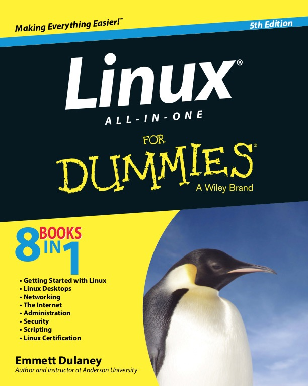 Linux All-In-One For Dummies - 5Th Edition