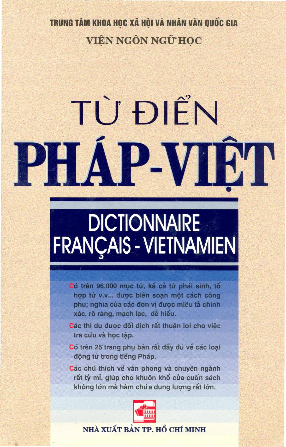 Từ Điển Pháp – Việt